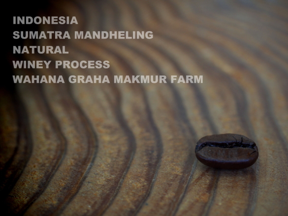 indonesia sumatera mandheling natural